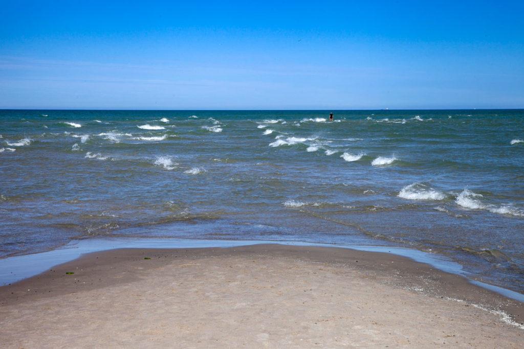 Spiagga di Grenen - Unione del mar Baltico e Mare del Nord