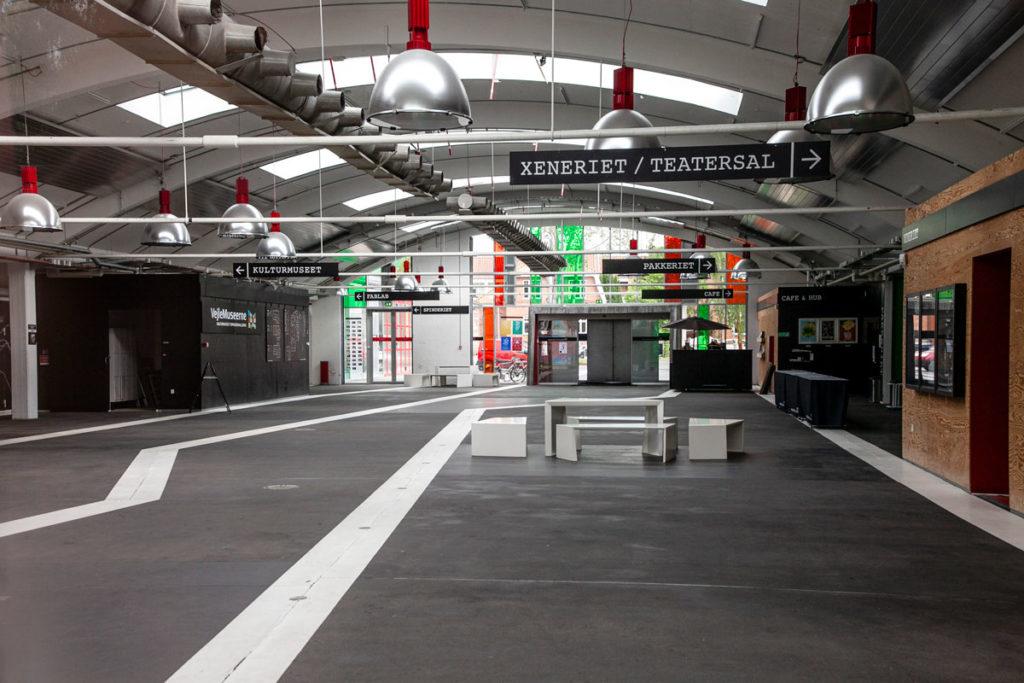 Spinderihallerne - museo nel quartiere artistico