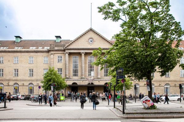 Stazione di Aarhus - Edificio del 1927