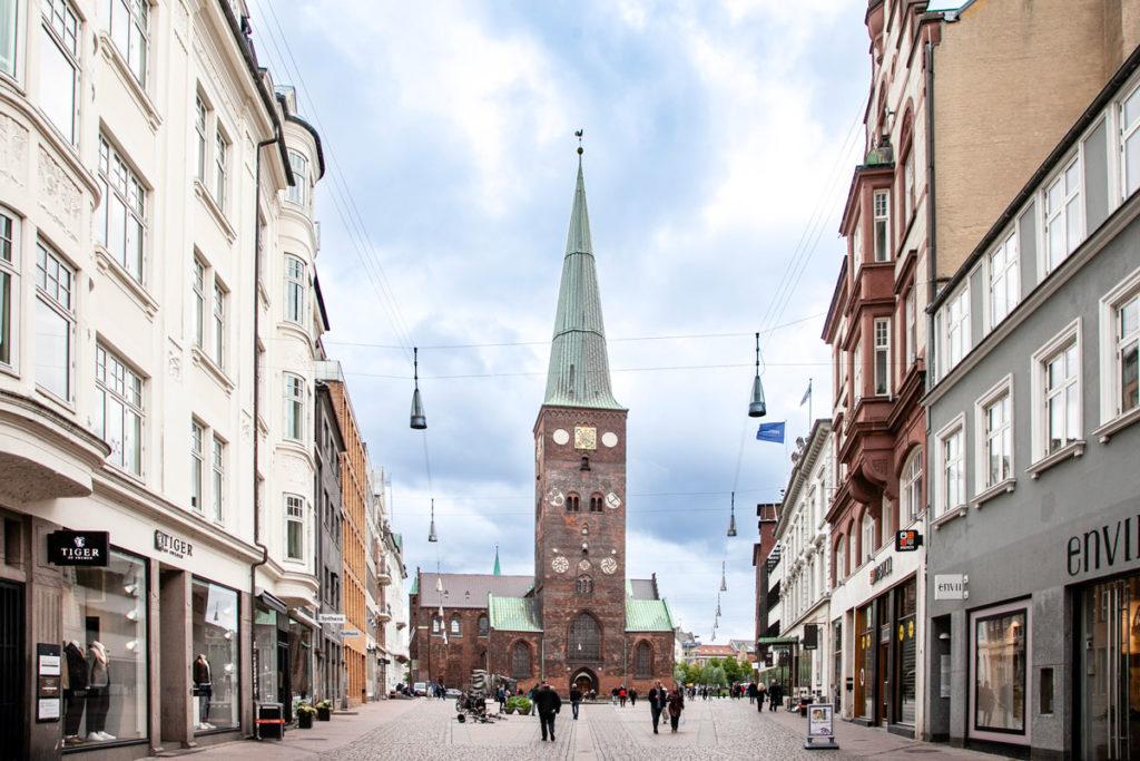 Store Torv e Cattedrale di San Clemente - Duomo di Aarhus