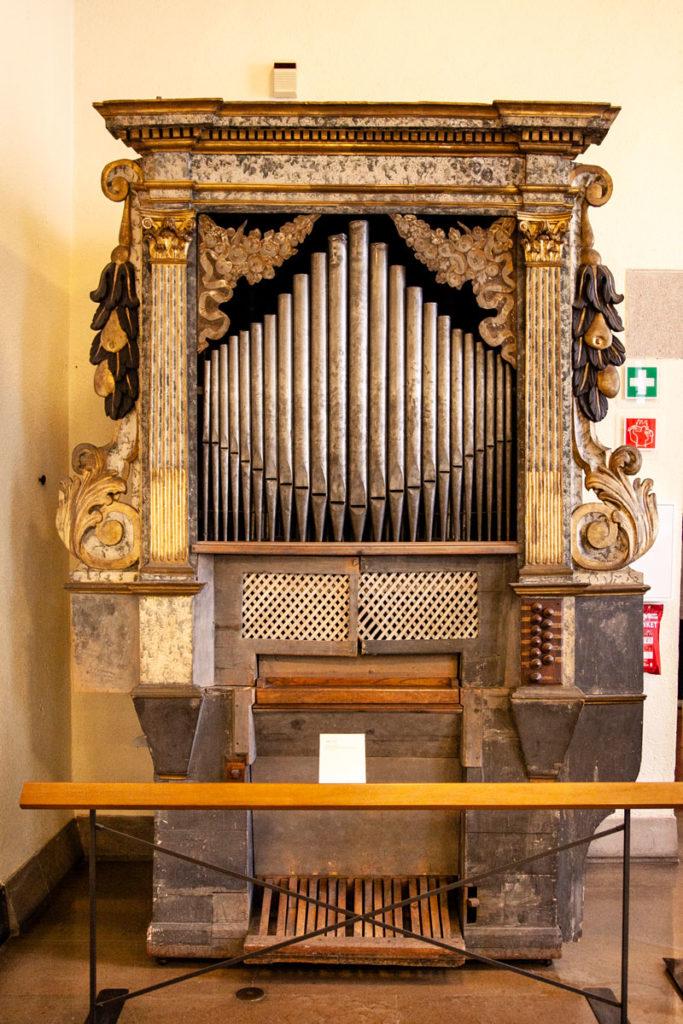 Strumenti musicali storici al Castello Sforzesco di Milano
