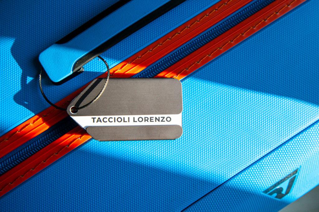 Tag Valigia personalizzato dal design moderno