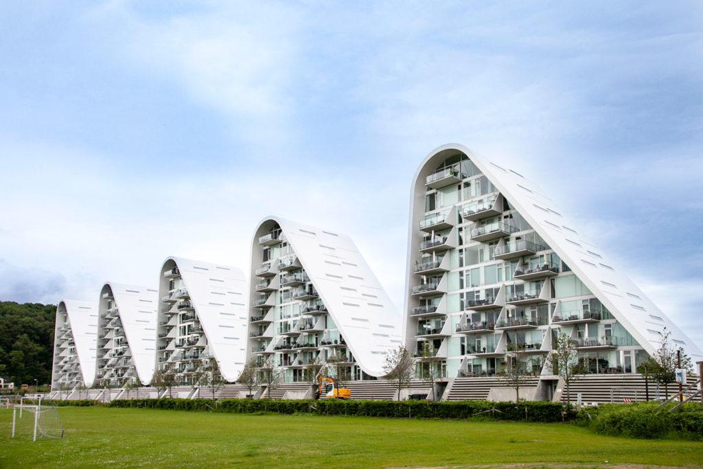 The Wave - Condominio moderno di Vejle - Le Onde