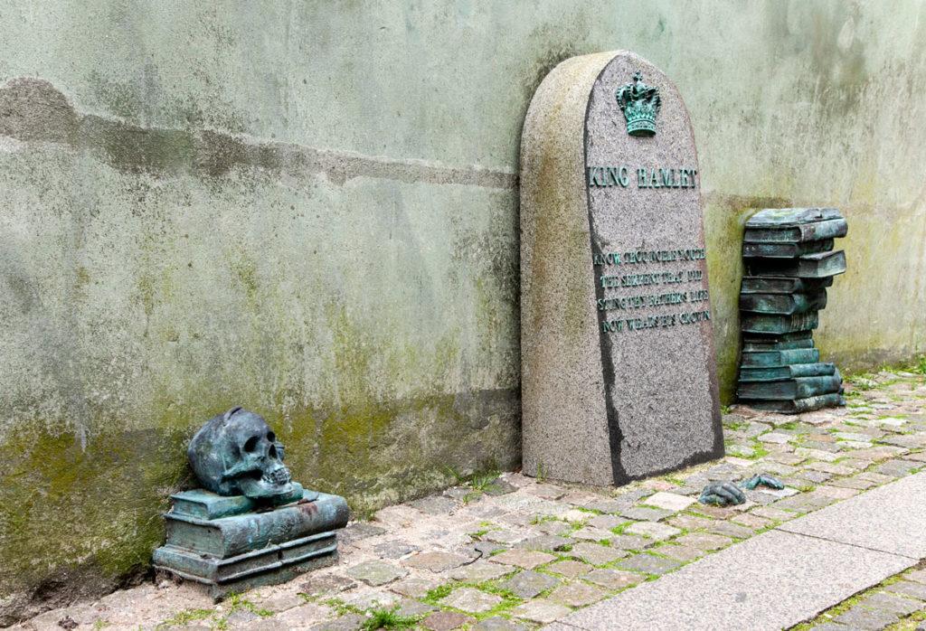 Tomba di King Hamlet - Amleto ad Helsingør