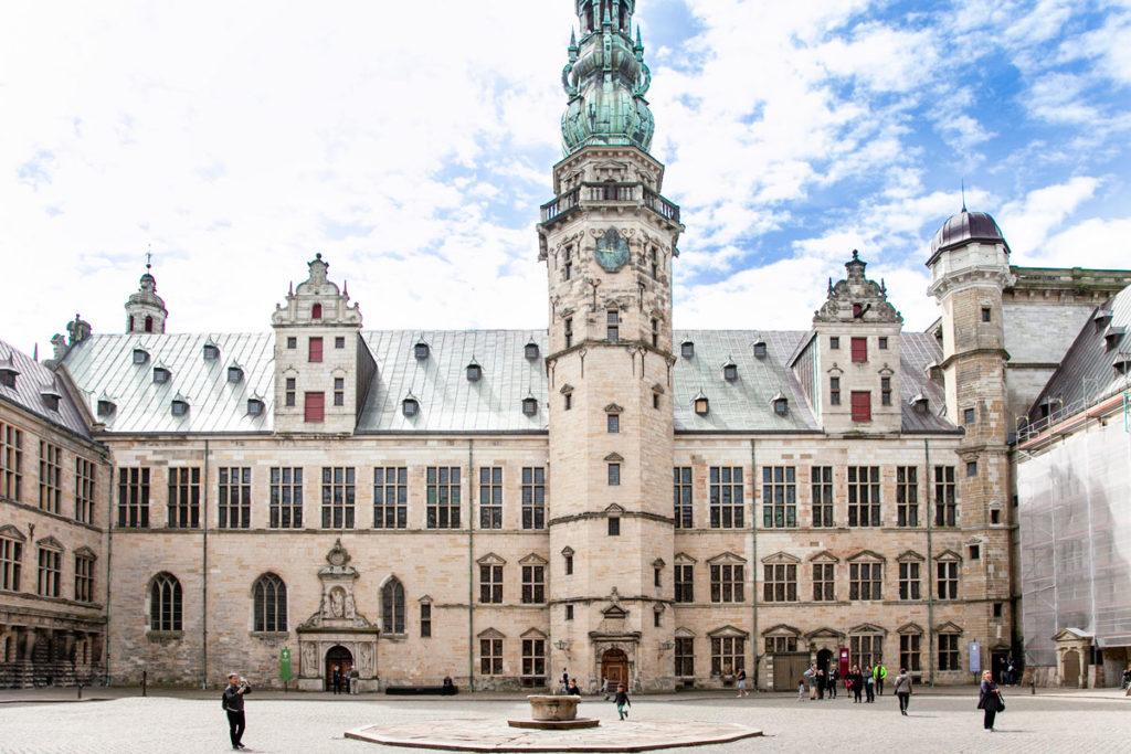 Torre Principale e Torre del Cannone a destra - Kronborg Slot