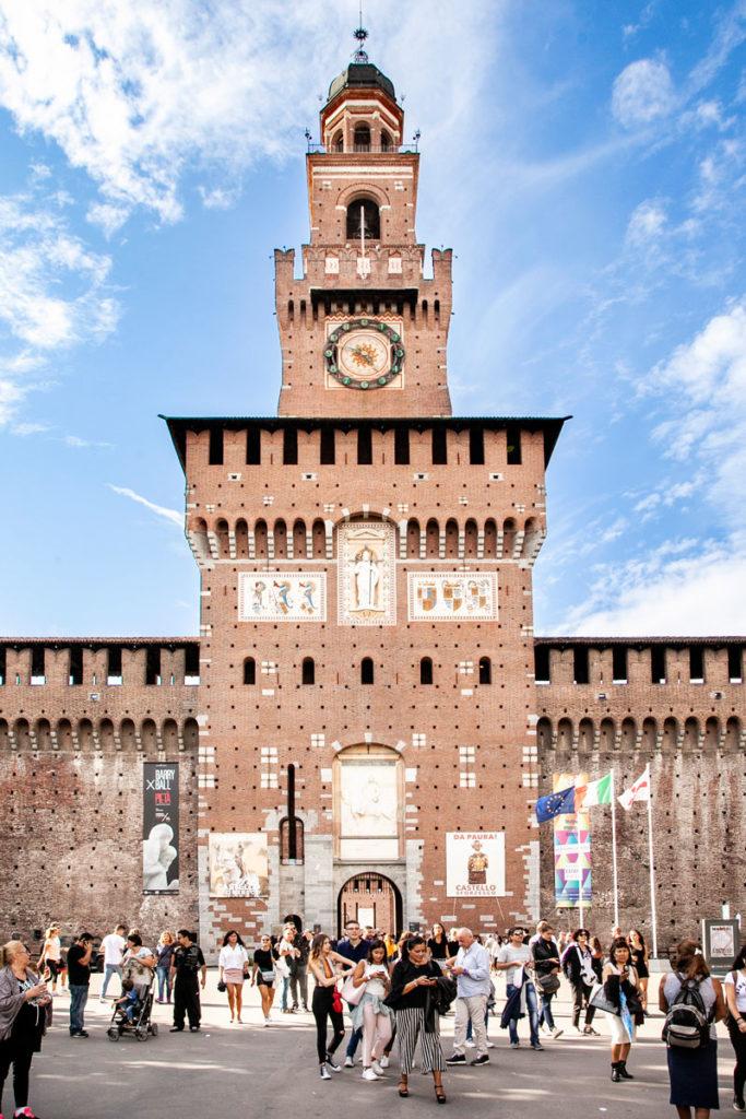Torre del Filarete - Ingresso al Castello Sforzesco