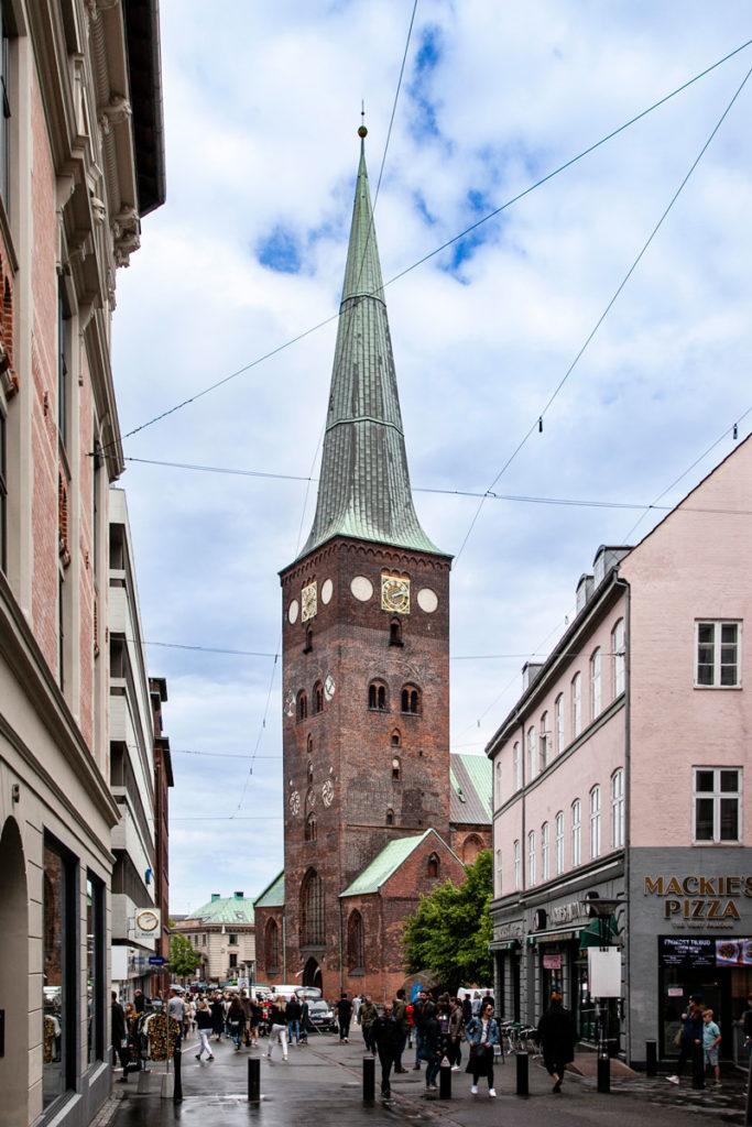 Torre del duomo di Aarhus