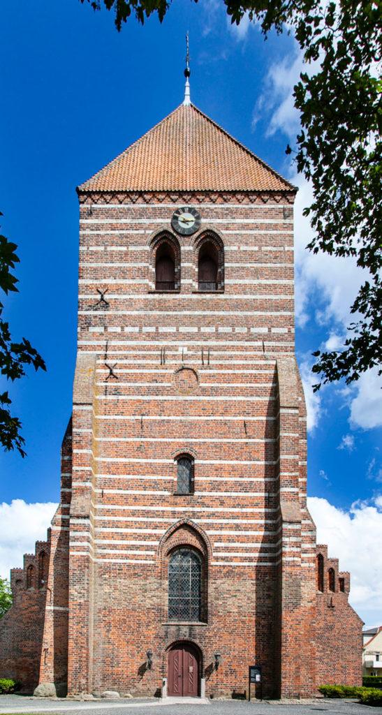Torre della Stege Kirke in stile romanico