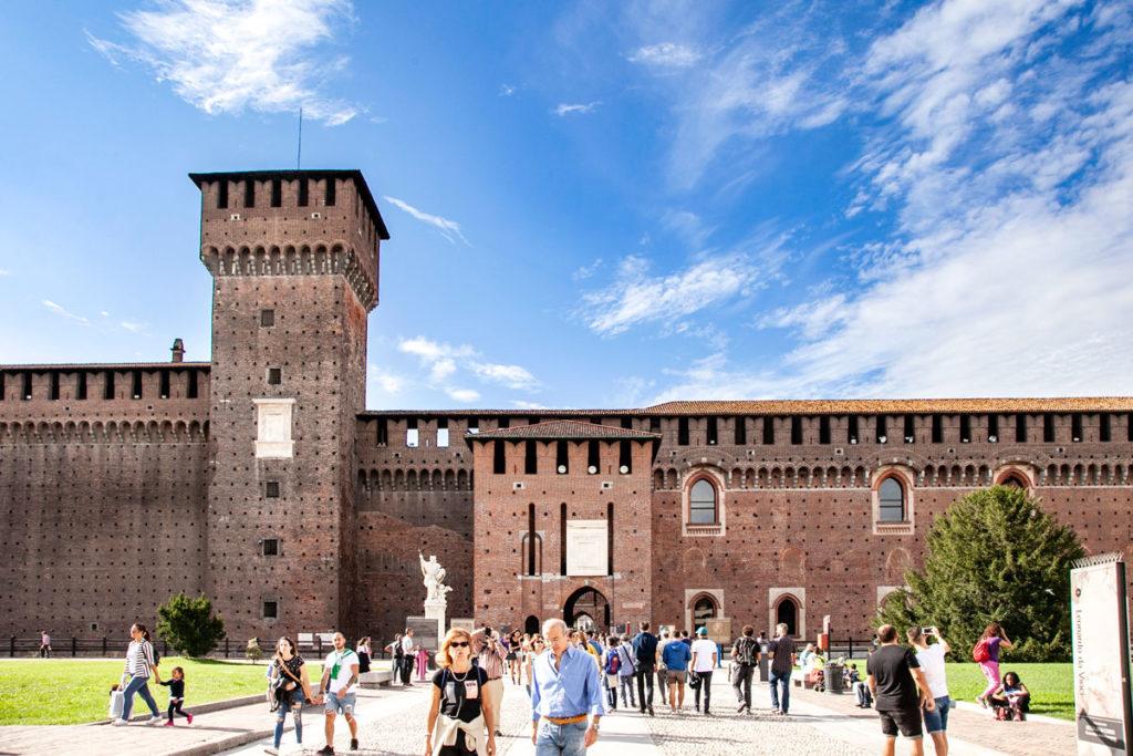 Torre di Bona di Savoia e Torre Mediana del Castello Sforzesco