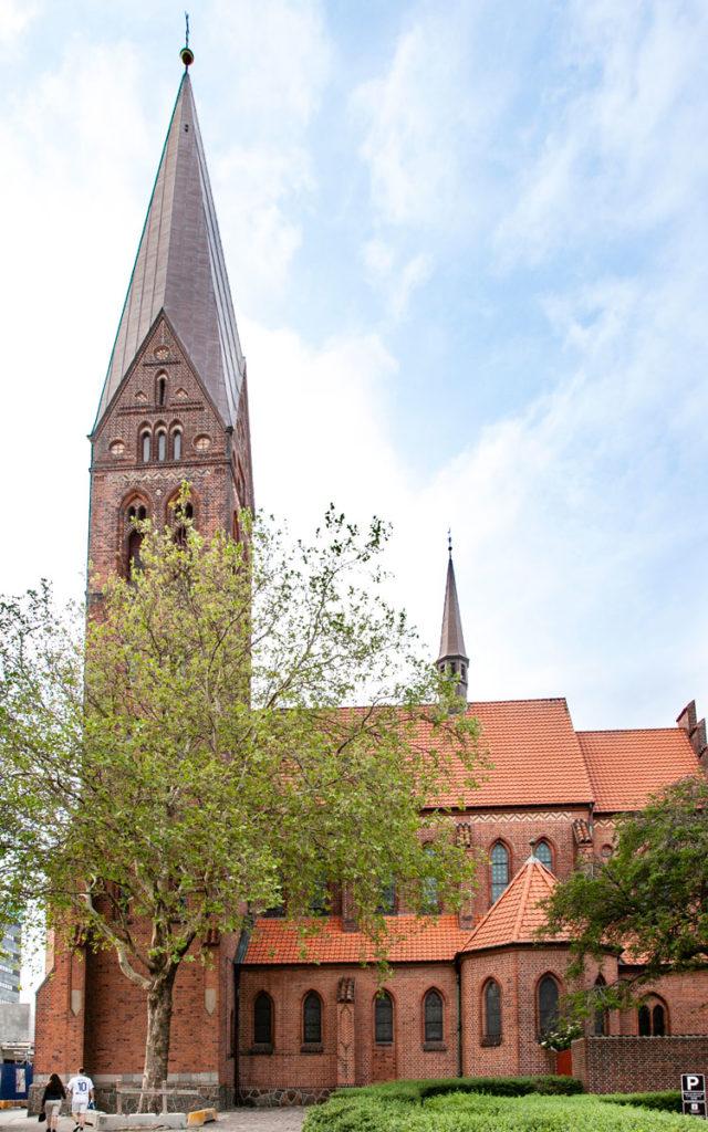 Torri e torrette della chiesa di St. Alban