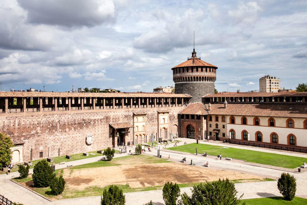 Torrione del Santo Spirito e Ospedale Spagnolo in Piazza d'Armi