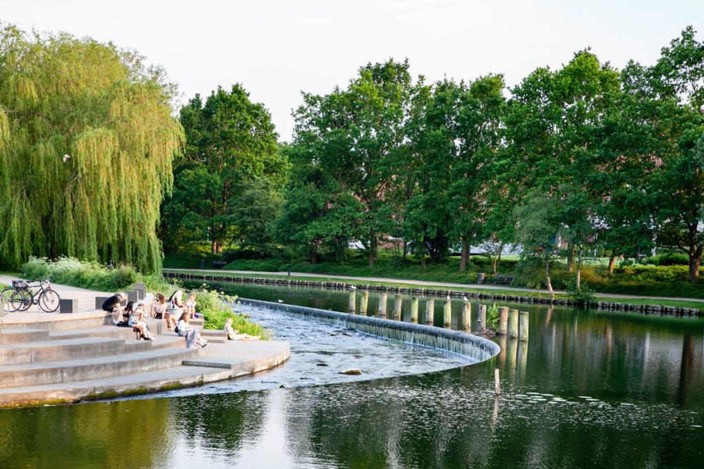 Tramonto al Parco Monks Mose - Cosa fare ad Odense