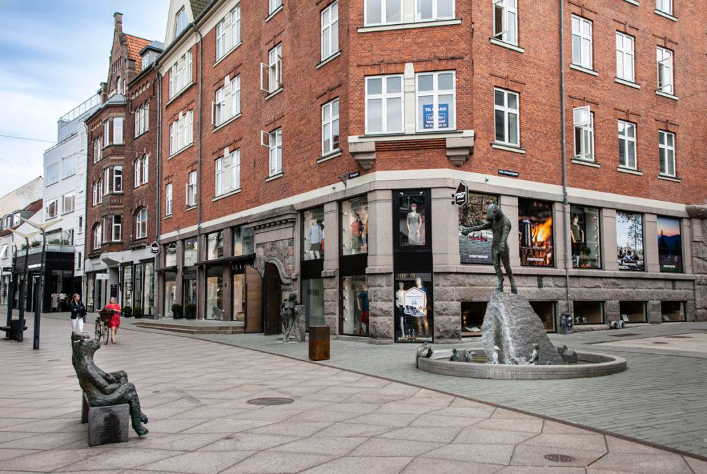 Tre statue di Pontus Kjerrman - Vejle