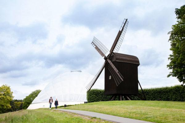 Vesterbro - mulino sulla citta di Aarhus