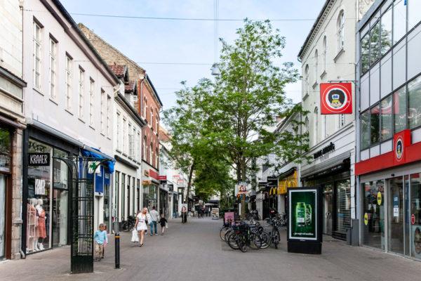 Vestergade - Via dello Shopping Cittadino di Odense