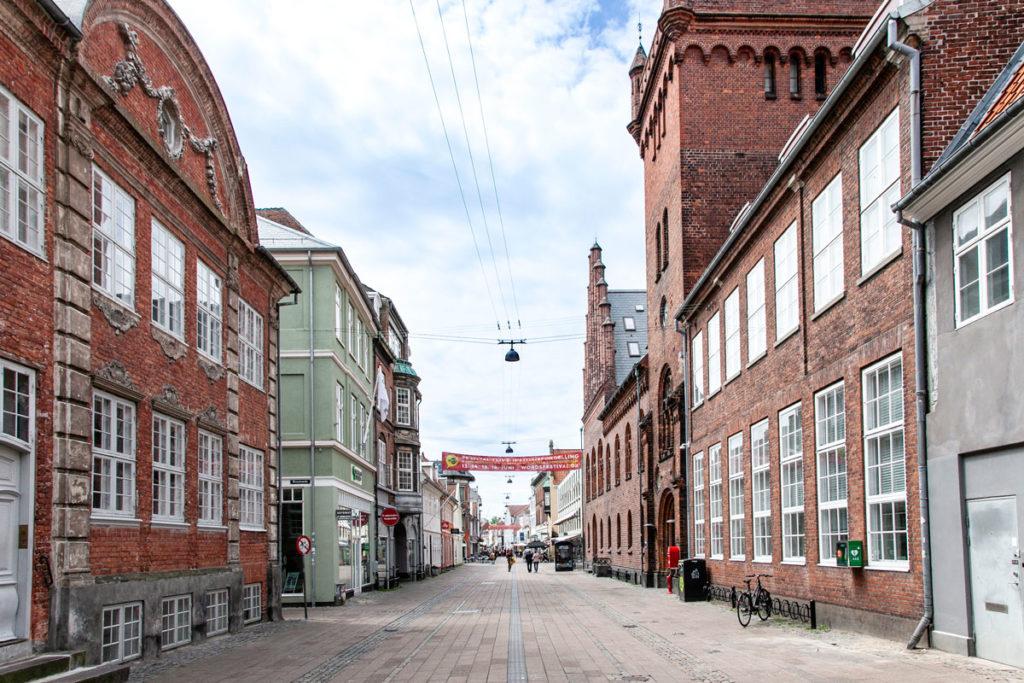 Via verso il municipio di Helsingør