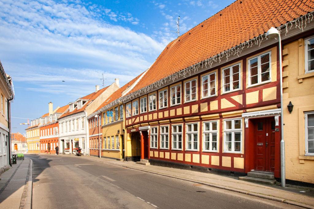 Vicoli del Centro Storico di Svendborg