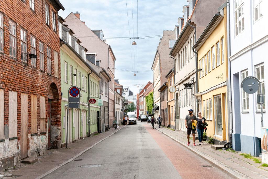 Vicoli del centro storico di Helsingør