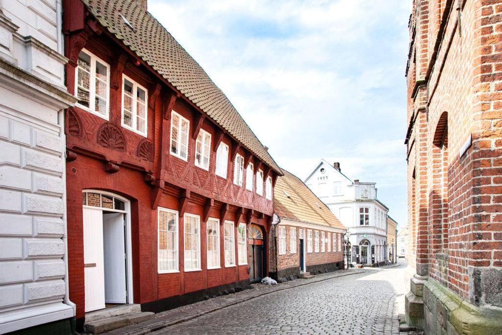 Vicoli del centro storico di Ribe