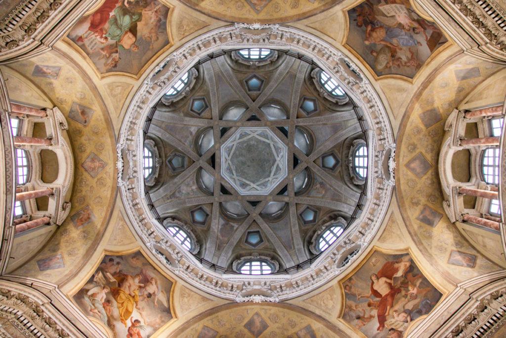 Vista interna della Cupola della Chiesa di San Lorenzo