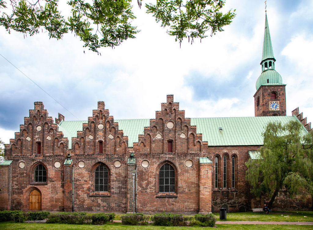 Vor Frue Kirke - Chiesa della Nostra Signora di Aarhus - Fiancata