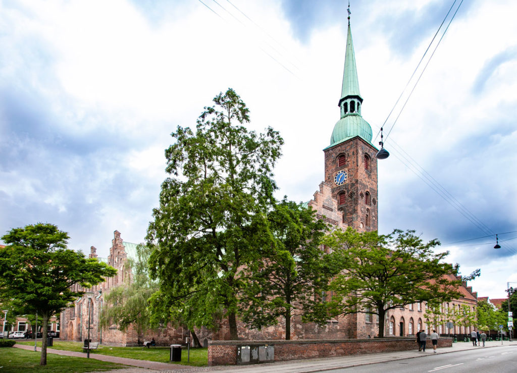 Vor Frue Kirke - Esterni della chiesa di Aarhus