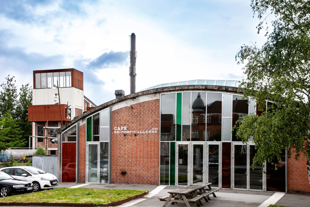 cafe Spinderihallerne - riqualificazione di Vejle
