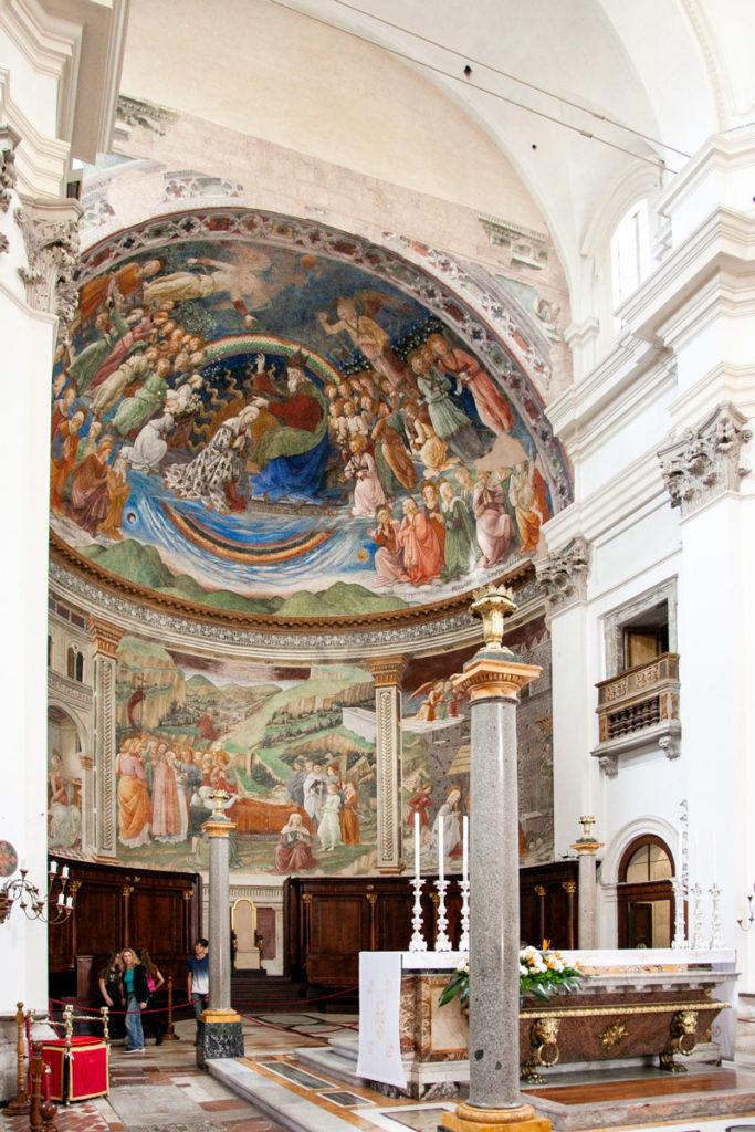 Abside altare maggiore del duomo di Spoleto