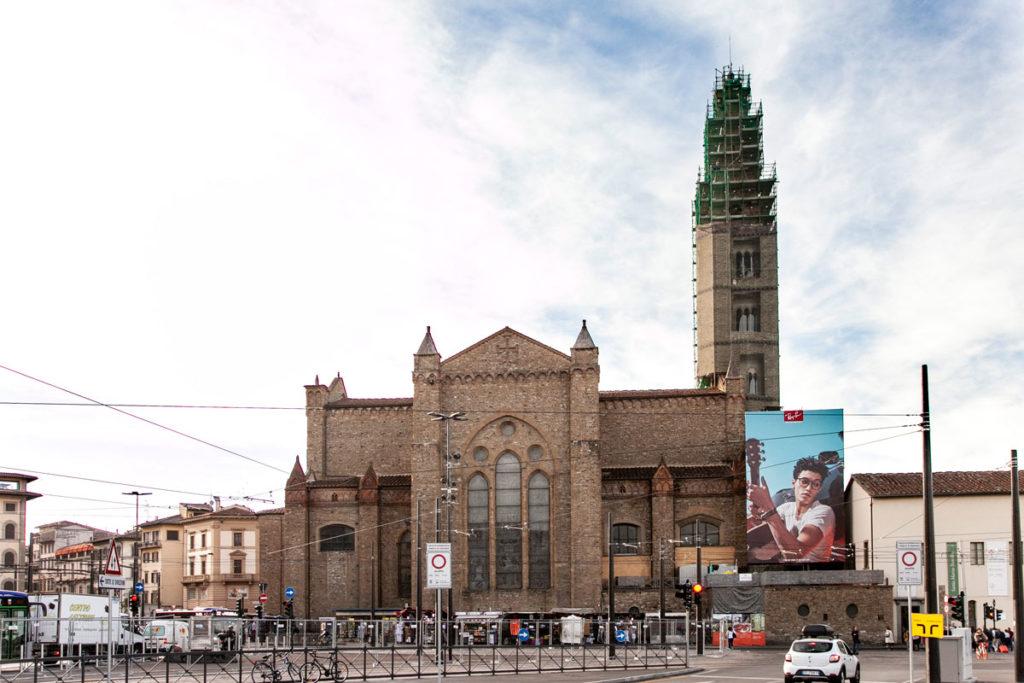 Abside e campanile della Basilica di Santa Maria Novella