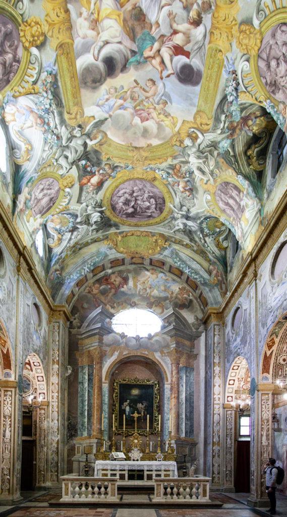 Affreschi della chiesa della Santissima Annunziata di Todi - la piccola cappella Sistina
