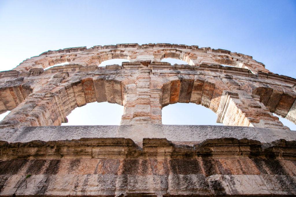 Ala dell'Arena di Verona - Parte più esterna conservata