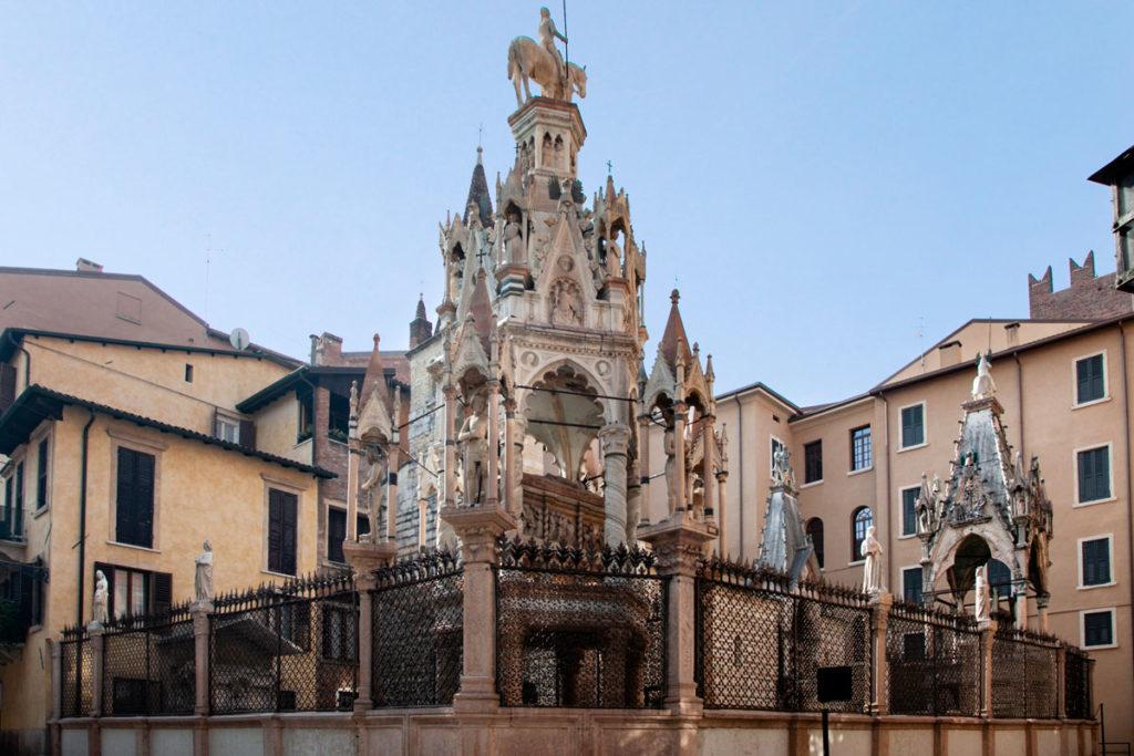 Arca Scaligera di Cansignorio - Tombe Maestose a Verona