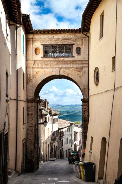 Arco del Monastero di San Francesco - Todi