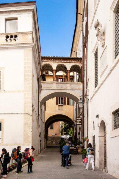 Arco di via Aurelio Saffi