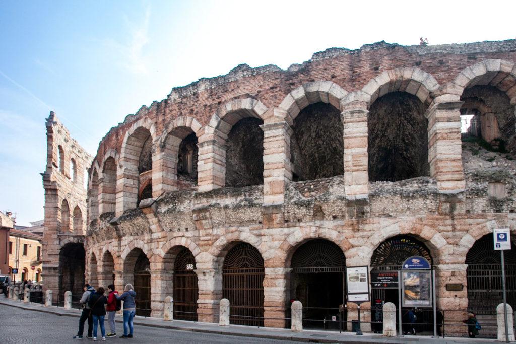 Arena di Verona - I secolo Dopo Cristo - Parte Interna e Ala