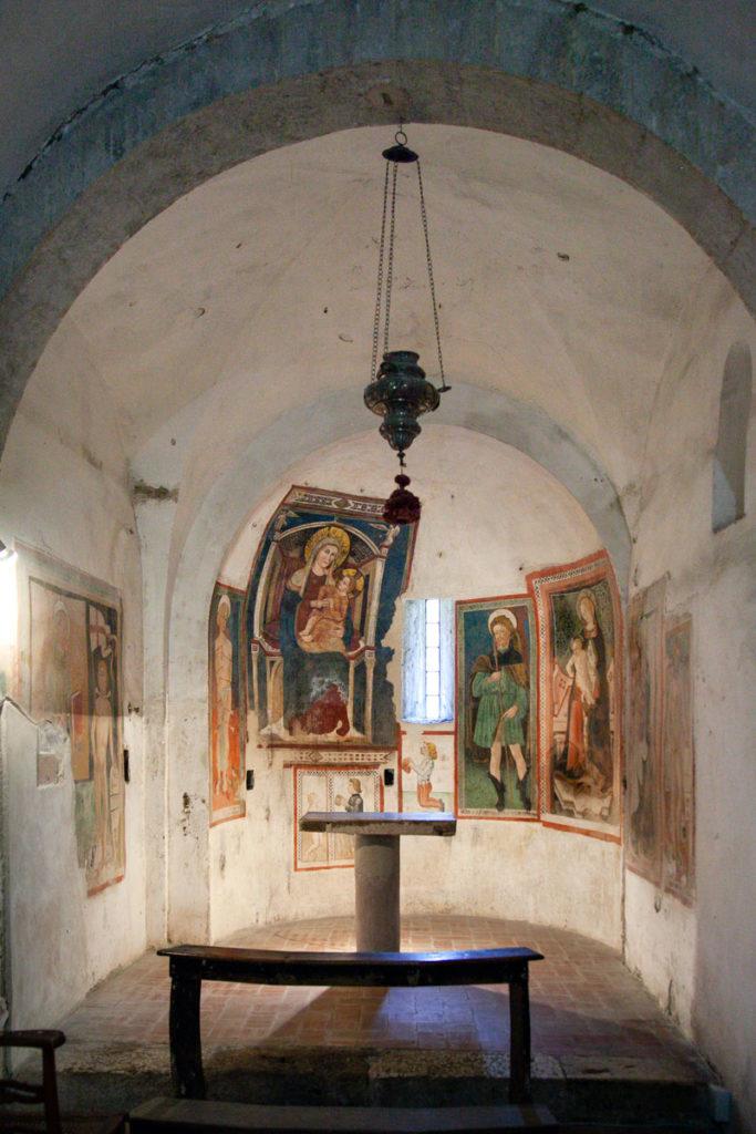Cappella Affrescata della Chiesa di San Ponziano