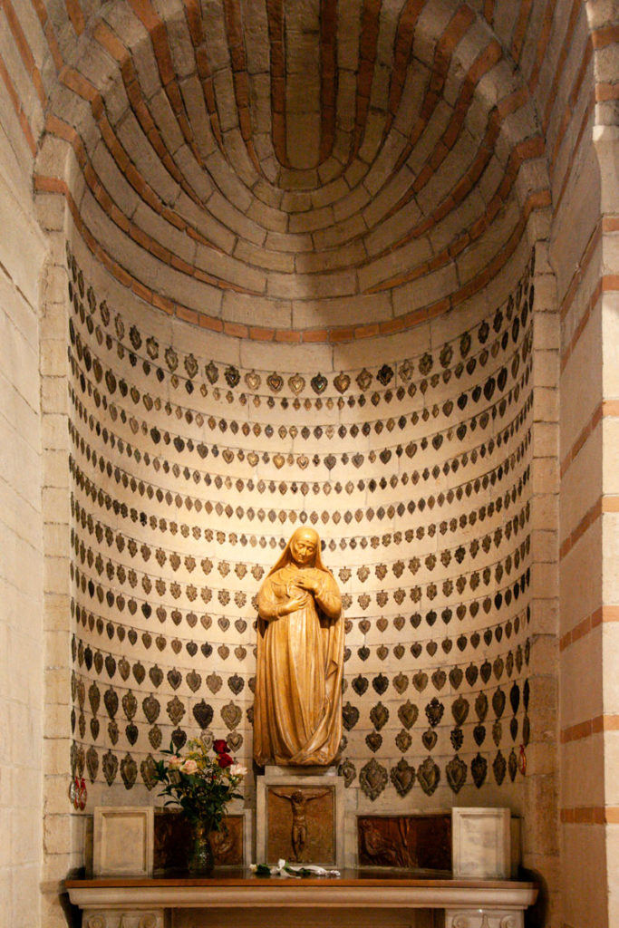 Cappella degli Ex Voto dentro la Chiesa Rettoriale di Santa Maria Antica