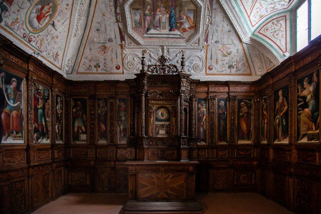 Cappella delle reliquie del duomo di Spoleto