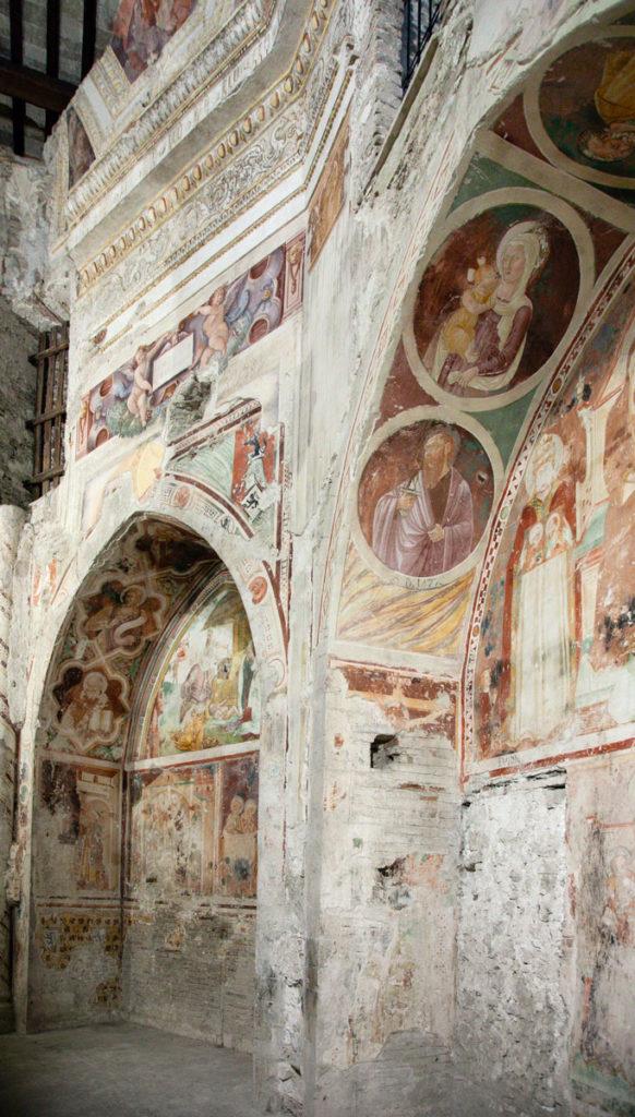 Cappella di Sant'Anna con affreschi del XIV secolo