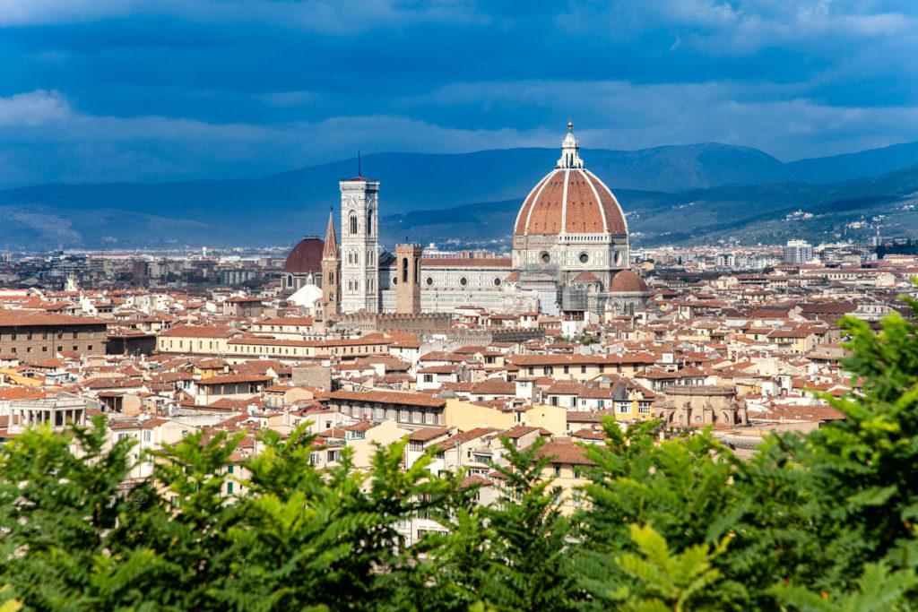 Cattedrale di Santa Maria del Fiore vista da Piazzale Michelangelo
