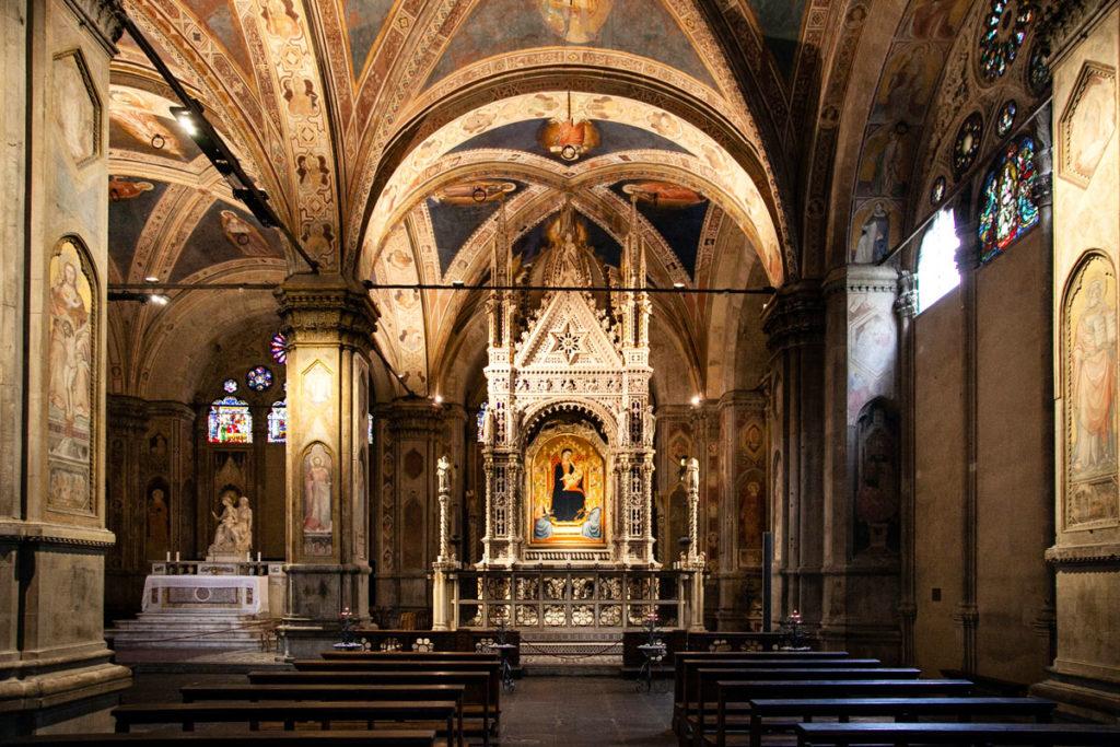 Chiesa di Orsanmichele a Firenze - Interni