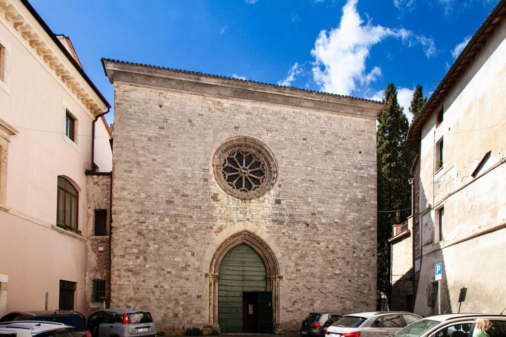 Chiesa di San Nicolò a Todi - Facciata Esterna