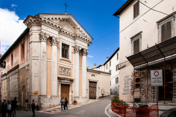 Chiesa di Sant'Ansano e Cripta di Sant'Isacco - Spoleto