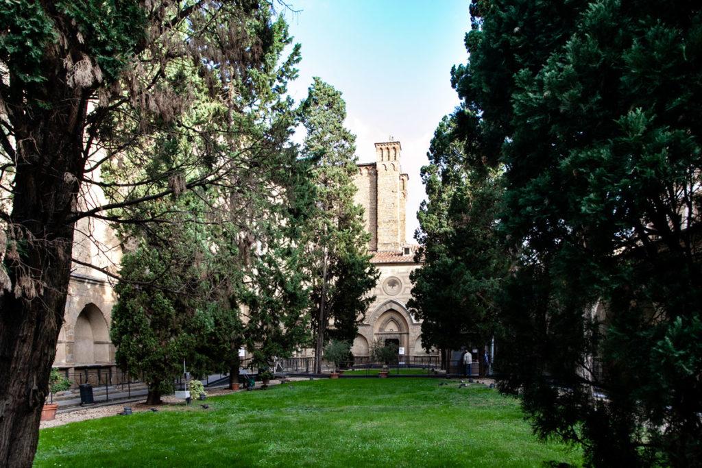 Chiostro della Basilica di Santa Maria Novella a Firenze