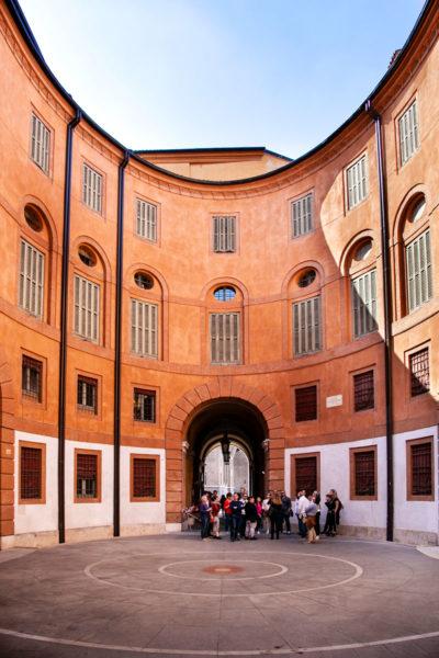 Cortile Interno del Teatro Comunale di Ferrara - Rotonda Foschini