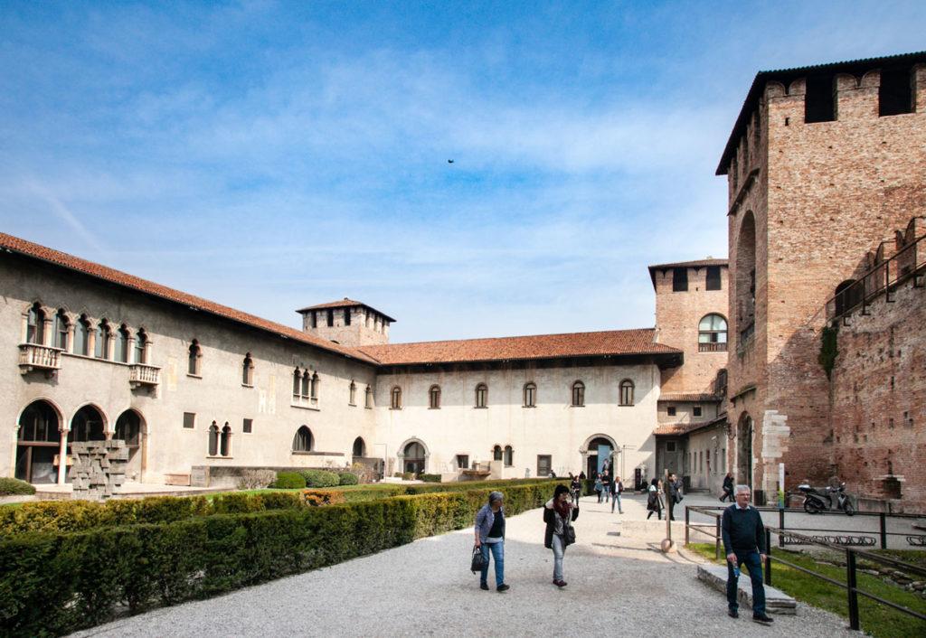 Cortile delle Armi del Museo di Castelvecchio - Verona