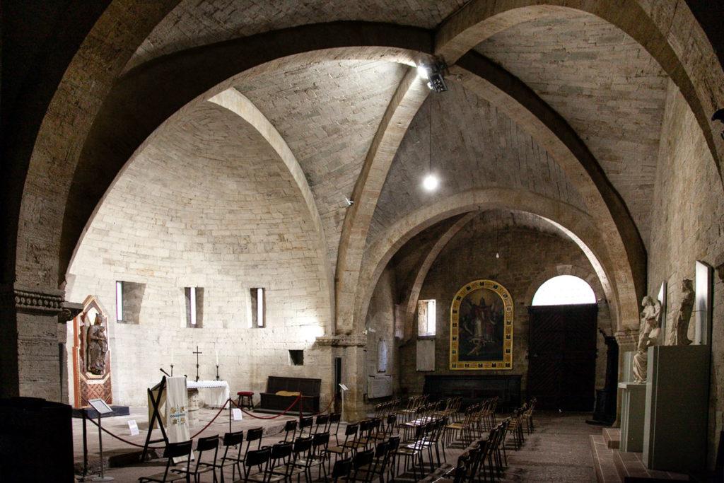 Cripta del duomo di Todi