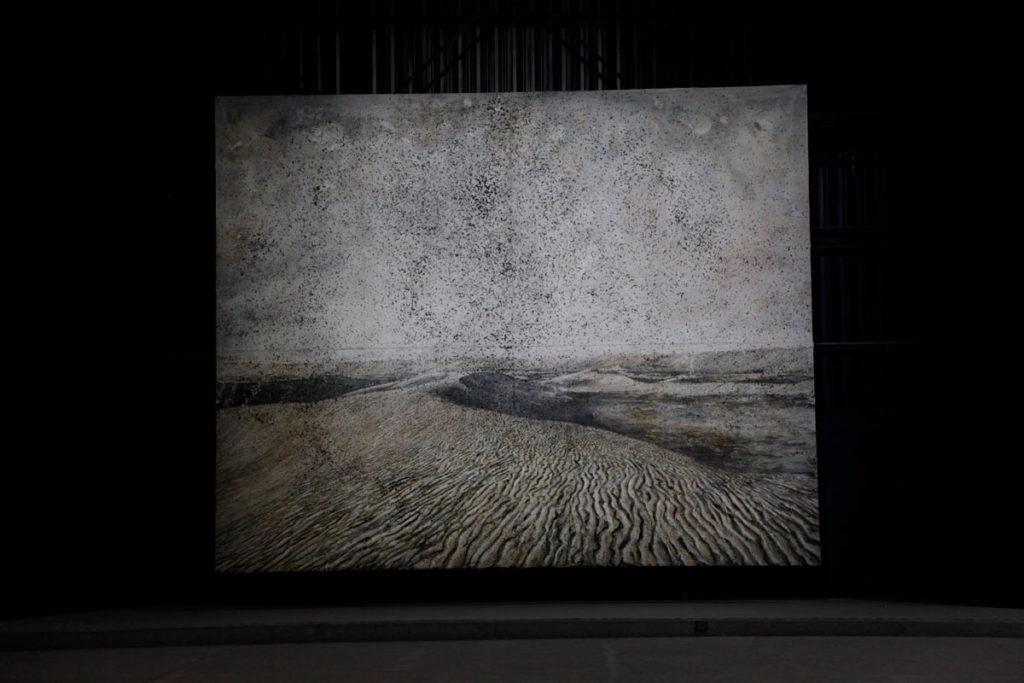 Dipinto Cette obscure clarte qui tombe des etoiles di Anselm Kiefer - Hangar Bicocca