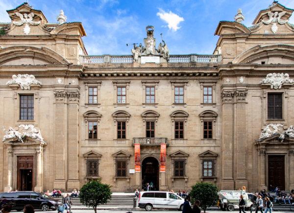 Facciata del Museo Zeffirelli a Firenze