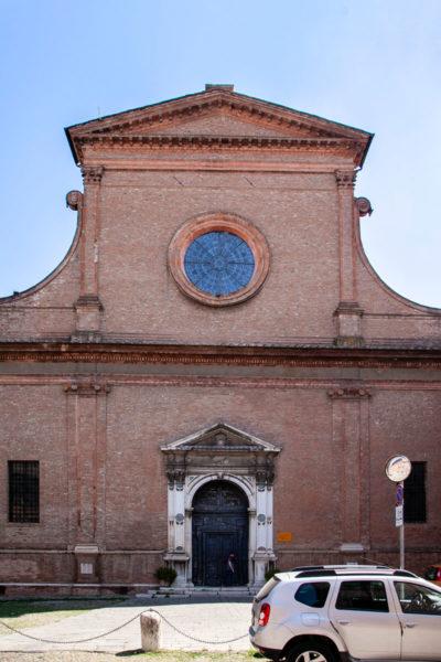 Facciata della Basilica di Santa Maria in Vado